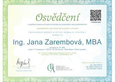 Jana.Zarembova-certifikace-Prodej.uveru